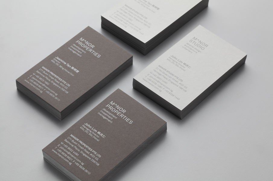 vertical or horizontal business card