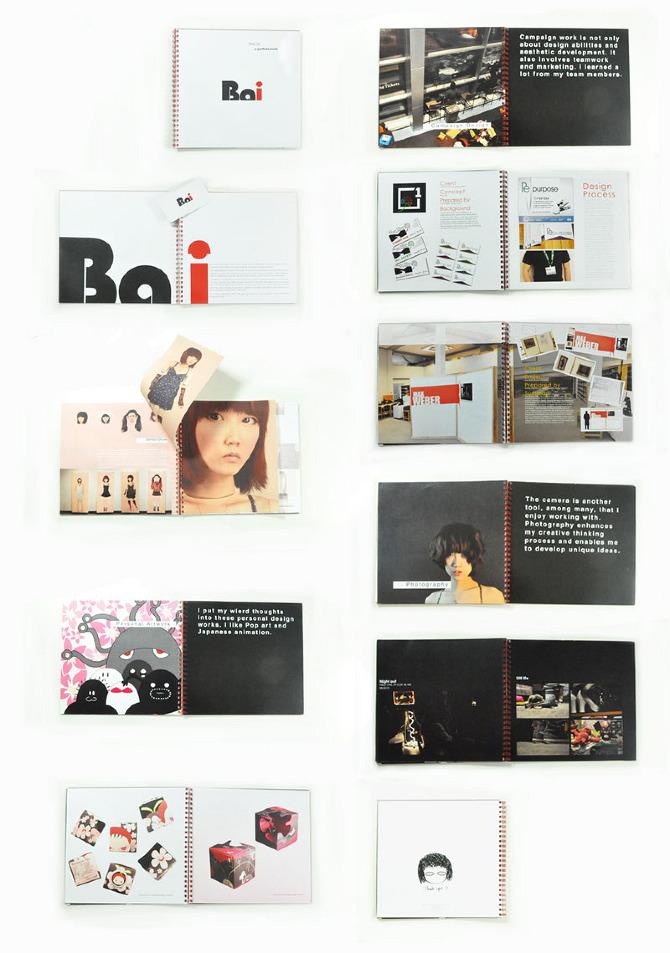 personal portfolio book and business card design a portfolio site