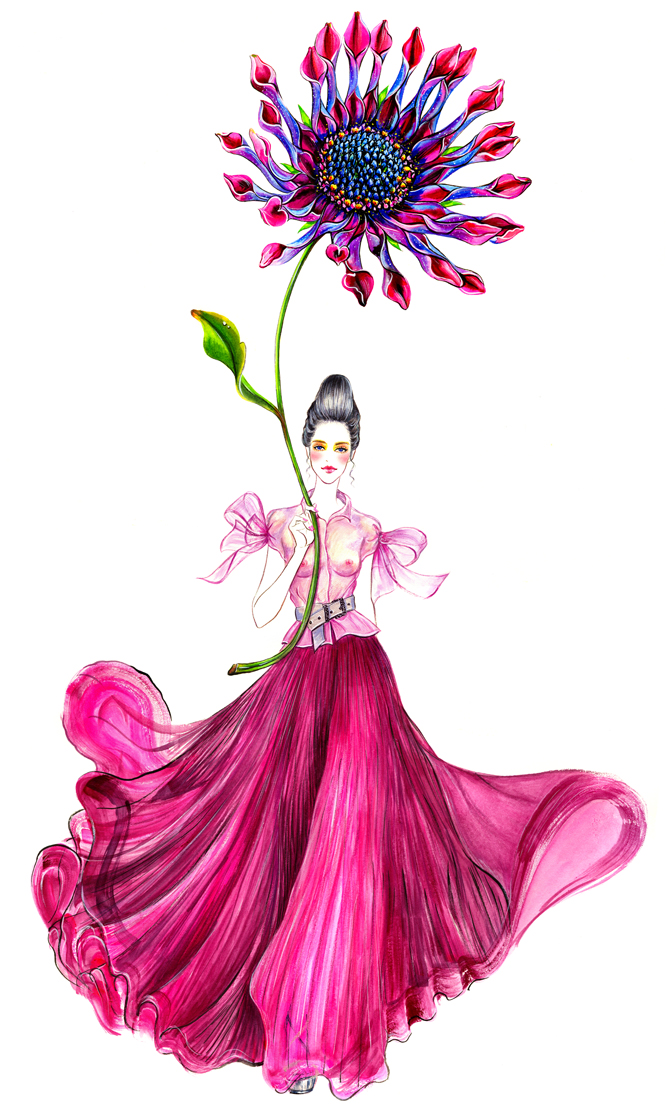 Image result for spring fashionista drawing